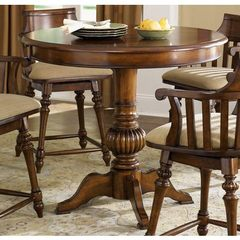 Buy Liberty Furniture Crystal Lakes 42x42 Round Pub Table in Toffee, Medium Wood on sale online
