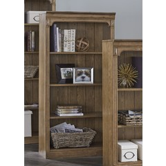 "Buy Liberty Furniture Cumberland Creek 60"" Open Bookcase on sale online"
