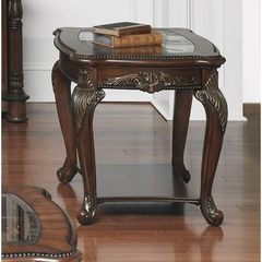 Buy Liberty Furniture Eden Park 28x24 Rectangular End Table in Cherry, Dark Wood on sale online