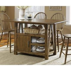 Buy Liberty Furniture Farmhouse 60x35 Traditional Kitchen Island in Oak on sale online