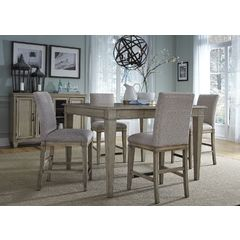 Buy Liberty Furniture Grayton Grove 5 Piece 54x54 Gathering Table Set on sale online