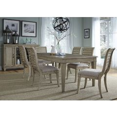 Buy Liberty Furniture Grayton Grove 8 Piece 84x42 Dining Room Set on sale online