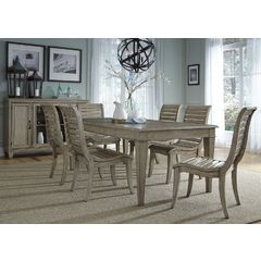 Buy Liberty Furniture Grayton Grove 8 Piece 84x42 Dining Set on sale online