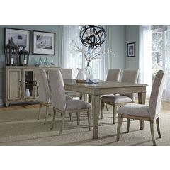 Buy Liberty Furniture Grayton Grove 8 Piece 84x42 Rectangular Dining Room Set on sale online