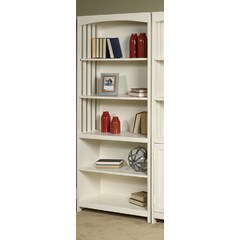 Buy Liberty Furniture Hampton Bay 715 Open Bookcase in White on sale online