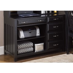 Buy Liberty Furniture Hampton Bay Black Computer Credenza on sale online