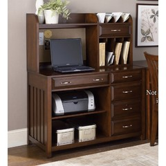 Buy Liberty Furniture Hampton Bay Cherry 2 Piece Computer Credenza on sale online