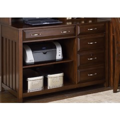Buy Liberty Furniture Hampton Bay Cherry Computer Credenza on sale online