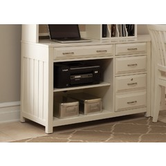 Buy Liberty Furniture Hampton Bay White Computer Credenza on sale online