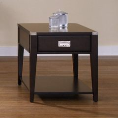 Buy Liberty Furniture Harbor Town 27x23 Rectangular End Table in Mocha on sale online