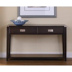 Buy Liberty Furniture Harbor Town 50x18 Rectangular Sofa Table in Mocha on sale online