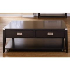 Buy Liberty Furniture Harbor Town 50x30 Rectangular Cocktail Table in Mocha on sale online