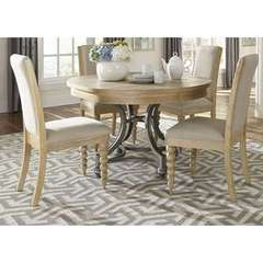 Buy Liberty Furniture Harbor View 5 Piece 42x42 Round Dining Room Set on sale online