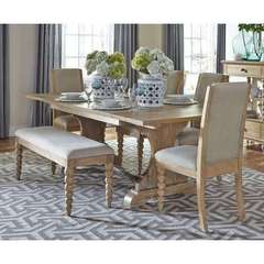 Buy Liberty Furniture Harbor View 6 Piece 94x42 Rectangular Dining Room Set on sale online