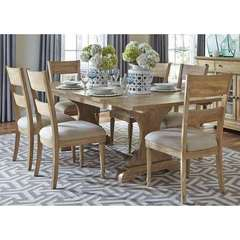 Buy Liberty Furniture Harbor View 7 Piece 94x42 Rectangular Dining Room Set in Sand on sale online