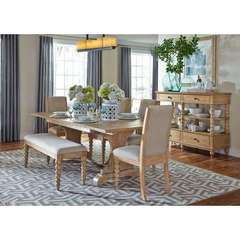 Buy Liberty Furniture Harbor View 7 Piece 94x42 Rectangular Dining Room Set w/ Server on sale online