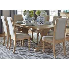 Buy Liberty Furniture Harbor View 7 Piece 94x42 Rectangular Dining Room Set on sale online