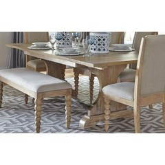 Buy Liberty Furniture Harbor View 94x42 Rectangular Trestle Table on sale online