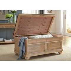 Buy Liberty Furniture Harbor View Country Storage Trunk in Sand on sale online