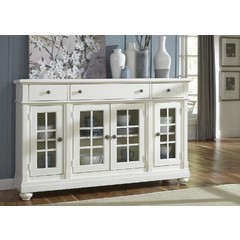 Buy Liberty Furniture Harbor View II Buffet in White on sale online