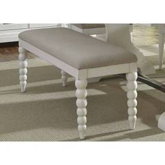 Buy Liberty Furniture Harbor View II 50x16 Inch Upholstered Bench (RTA) in White on sale online