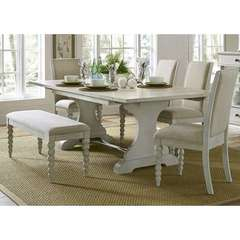 Buy Liberty Furniture Harbor View III 6 Piece 94x42 Rectangular Dining Room Set on sale online