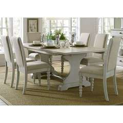 Buy Liberty Furniture Harbor View III 7 Piece 94x42 Rectangular Dining Room Set on sale online