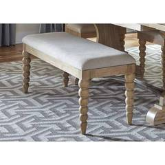 Buy Liberty Furniture Harbor View 50x16 Inch Upholstered Bench (RTA) in Sand on sale online