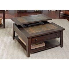 Buy Liberty Furniture Hearthstone 38 Inch Square Cocktail Table w/ Lift Top on sale online