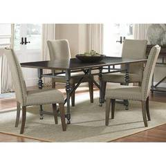 Buy Liberty Furniture Ivy Park 5 Piece 76x42 Rectangular Dining Room Set on sale online