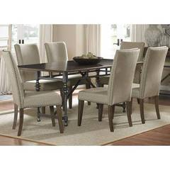 Buy Liberty Furniture Ivy Park 7 Piece 76x42 Rectangular Dining Room Set on sale online