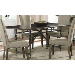 Buy Liberty Furniture Ivy Park 76x42 Rectangular Dining Table in Weathered Honey on sale online