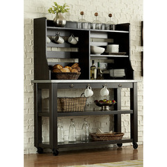 Buy Liberty Furniture Keaton II Server w/ Hutch in Charcoal on sale online