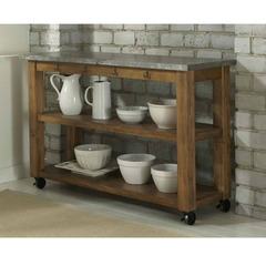 Buy Liberty Furniture Keaton Transitional Server in Medium Wood on sale online