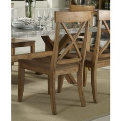 Buy Liberty Furniture Keaton Transitional Side Chair w/ X Back on sale online