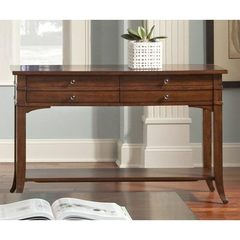 Buy Liberty Furniture Keystone 48x18 Rectangular Sofa Table in Cherry on sale online