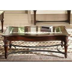 Buy Liberty Furniture Kingston Plantation 52x32 Rectangular Cocktail Table in Cognac on sale online