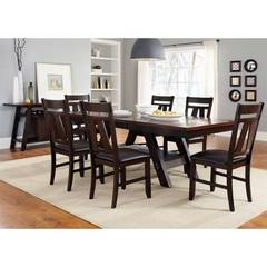 Buy Liberty Furniture Lawson 8 Piece 90x40 Dining Room Set on sale online