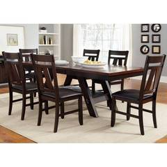 Buy Liberty Furniture Lawson 90x40 Trestle Table in Espresso on sale online