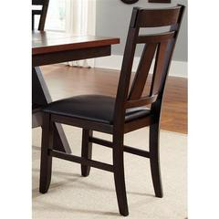 Buy Liberty Furniture Lawson Splat Back Side Chair in Espresso on sale online