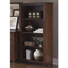 Buy Liberty Furniture Leyton I 60 Inch Open Bookcase (KD) on sale online