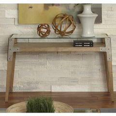 Buy Liberty Furniture Loire 50x18 Rectangular Sofa Table in Natural on sale online