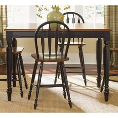 Buy Liberty Furniture Low Country Black 54x54 Square Counter Height Table on sale online