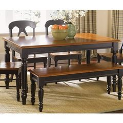 Buy Liberty Furniture Low Country Black 76x38 Rectangular Leg Table on sale online