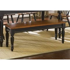 Buy Liberty Furniture 48x16 Inch Low Country Black Bench on sale online
