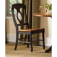 Buy Liberty Furniture Low Country Black Napoleon Back Side Chair on sale online