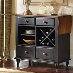 Buy Liberty Furniture Low Country Black Server on sale online