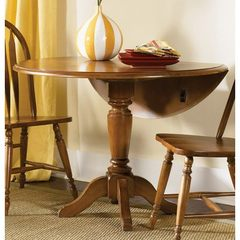 Buy Liberty Furniture Low Country Bronze 42x42 Round Drop Leaf Dining Table in Bronze, Medium Wood on sale online