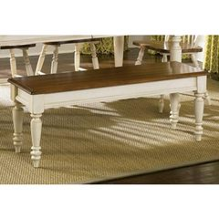 Buy Liberty Furniture 48x16 Inch Low Country Sand Bench on sale online