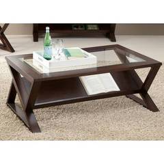 Buy Liberty Furniture Madison 48x27 Rectangular Cocktail Table in Coffee Bean on sale online